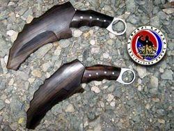 Marco Florentino's Custom Made 5160 Spring Steel Dual Karambit