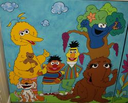 Can You Tell Me How To Get To Sesame Street (Canvas 1)