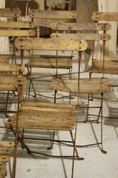 #18/192 Set of 12 Bistro Chairs SOLD