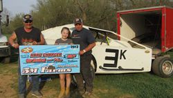 Shawn Kozar winner hard Charger  March 26,2017