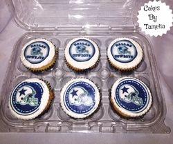 Cowboys cupcakes