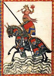 Knight of Love, Manesse Codex, c. 1300