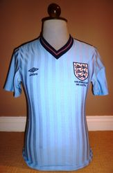England Umbro Match Issue Terry Fenwick world cup mexico 1986 for sale