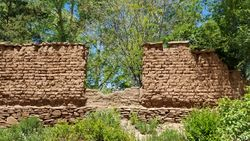 Walls at la Cueva