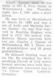 Garner, Albert 1971