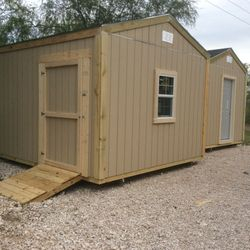 A-frame sheds 10' high