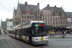 Siemens #6338 passing through Sint Veerleplein