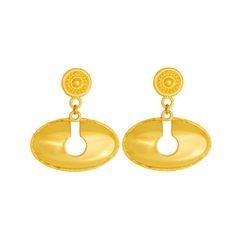 Aretes de colgar de nariguera  - Dangling earrings precolumbian ethnic nose piece