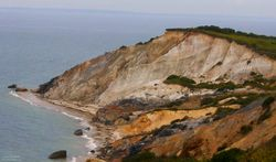 Cliffs on Martha's Vineyard