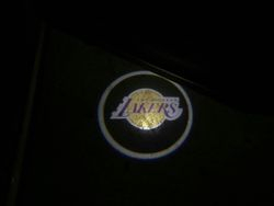 Lakers Logo LED Door Projector Puddle Lights