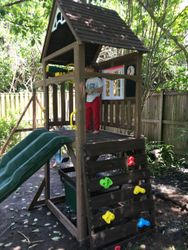 KidKraft Lindale swing set assembly in Washington DC