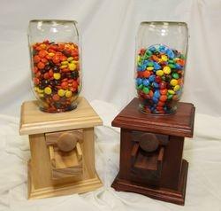 Wood Candy Dispenser