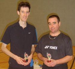 Handicap Tournament Mens Doubles Runners Up