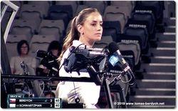 Chair Umpire Marijana Veljovic