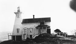 Discovery Island Light station in 1934