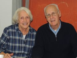 Jim and Helen Powers of Holy Rosary Parish and long time volunteers for Conquest and Challenge Clubs of Milton