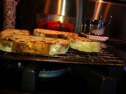 Grilling Bread for Bruschetta