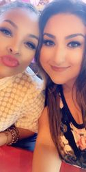 Demetria McKinney and Maddie - August 16, 2019