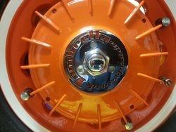 Reaney's rear hub lock ring