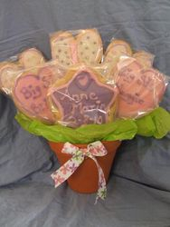 6 Cookie Bouquet (It's a Girl)