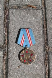 Medalis 50 metu TSRS ginkluotoms pajegoms. Kaina 11 eur
