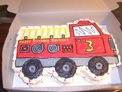 Cutout Train Cake