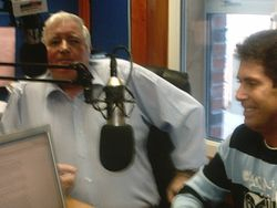 Jimmy & Kevin Collins at Dundalk FM.