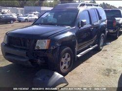 2008 NISSAN XTERRA 4.0L V6 RWD