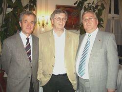 Lirim Mezini, Vladimir Tismaneanu and Mustafa Xhepa