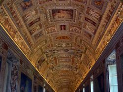 Hallway Near The Sistine Chapel