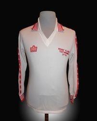 Admiral Match worn Aberdeen Bobby Clarke Testimonial Shirt