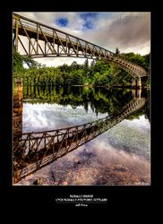Faskally Bridge Loch Faskally-Pitlochry-Scotland