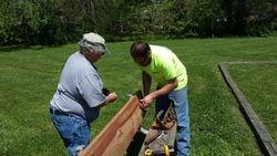 Repairing the bench