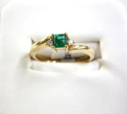 Anillo de esmeralda - Emerald ring