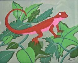 Firey Salamander