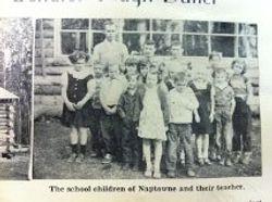 Naptowns 1st School Children 1953