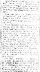 Clemens, Verna Grove 1947