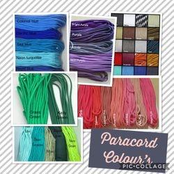 Paracord Colours