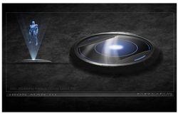 3D Media projector 1  IM3