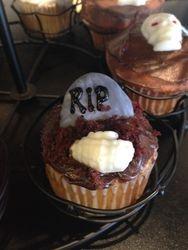 Grave Yard Cupcake