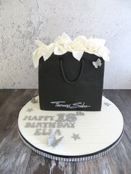 Thomas Sabo gift bag cake