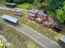 Overview of the junction sidings