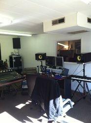 Chromaphonic Recordings Control Room