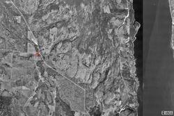 Satellite - Land 3 miles to Lake Roosevelt