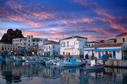 Myrina,Lemnos island, Aegean sea