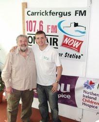 Ivan Martin visits Michael in the studio