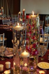 Simple Elegant Table Arrangement