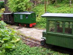 Boxcab meets railbus at Shade Gap