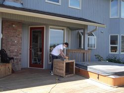 Wood Deck Staining