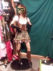 Women Robin Hood or medieval